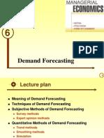 DemanDd Forecasting