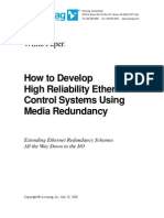 Ethernet Control Systems Using Media Redundancy