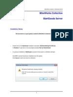StartGoods Install Note