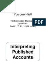 Interpreting Accounts