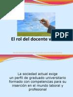 Rol Del Docente en La EaD