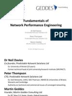 Fundamentals of Network Performance Engineering