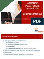1 Avril 2011 - EDF - Eclairage
