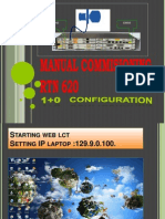 Manual Commisioning Rtn 620 by Sugeng