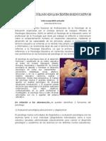Papel del Psicólogo en los Centro Educativos.docx
