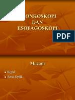 Bronkoskopi Dan Esofagoskopi