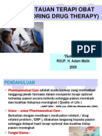 Yanfa Slide Pemantauan Terapi Obat Monitoring Drug Therapy