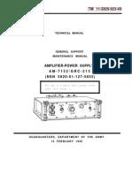 AM-7125_GRC-216 - Operators & Maintenance Manual TM 11-5820-923-40