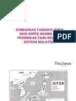 sumbangan tamadun Jepun