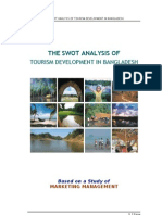 SWOT Analysis of Bangladesh Tourism