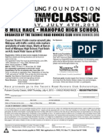 Putnam County Classic July 4 2013 Flyer