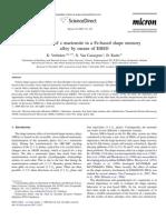 Identification of Martensite-1
