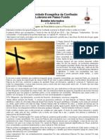 Boletim Eletrônico Comunidade Passo Fundo abril 2013