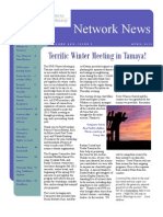 SWS Spring 2013 Network News