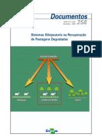 Sistemas silvipastoris na recuperação de áreas degradadas