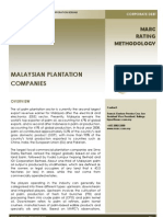 Plantation review in Malaysia