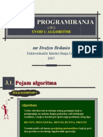 OP - T03 - Uvod u Algoritme