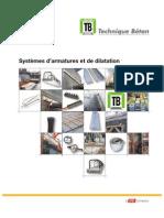 Technique Beton Systemes d Armatures Et de Dilatation Section 4