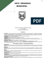 Carta Organica General Roca