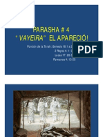 PARASHA #4 Vayeyra El Aparecio .Power Point