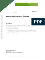 Theoretical progress on V_us on lattice