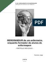 Portfolio Reflexivo