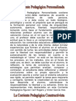 teorias pedagogicas contemporaneas