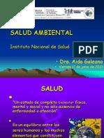 Panorama de La Salud Ambiental