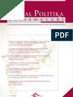 Sosyal Politika 29 Sayi Kapakli