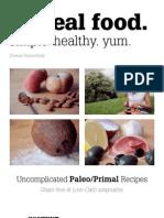 i Love Real Food Cookbook