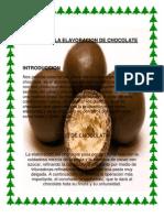 Informe de La Elavoracion de Chocolate Betto1