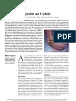 Acute Ankle Sprain- An Update