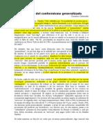 ConreliusCastoriadis,Laepocadelconformismogeneralizado(obligatoria)