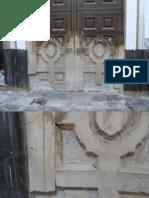 Restauración de falso Portal hecho en yeso-cal