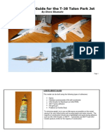 T-38 Park Jet Construction Guide
