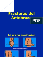 11- Fracturas Del Antebrazo