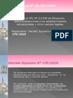 Ok- Decreto 170_2010 Para Jornada Difusion_ Sostenedores
