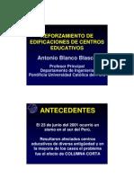 20080912-Conferencia Reforzamiento de Edificaciones de Centros Educativos