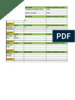 Day Plannig Activity