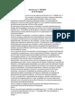 Decreto lei nº300_2007 de 23 de Agosto