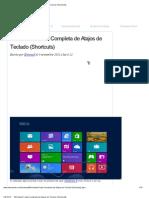 Windows 8_ Lista Completa de Atajos de Teclado (Shortcuts)