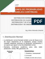 Clase - Distribuciones Continuas