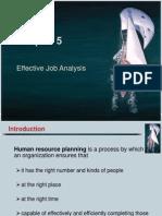 Effective job analysis