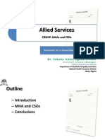 Allied Services CBSHIP, MHAs and CSOs