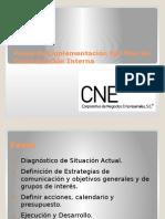 Fases de Implementación del Plan de Comunicación Interna