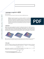 Topological objects in QCD