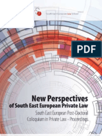 New Perspectives of South East European Private Law-Final