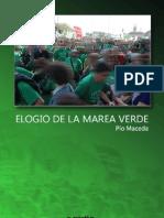 Elogio de La Marea Verde-pio Maceda