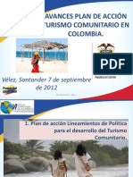 Presentacion Avances Turismo Comunitario MCIT