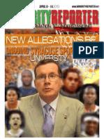 Minority Reporter Week of April 8 - 14, 2013